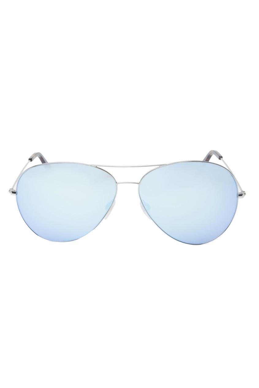 Очки-авиаторы с зеркальными линзами