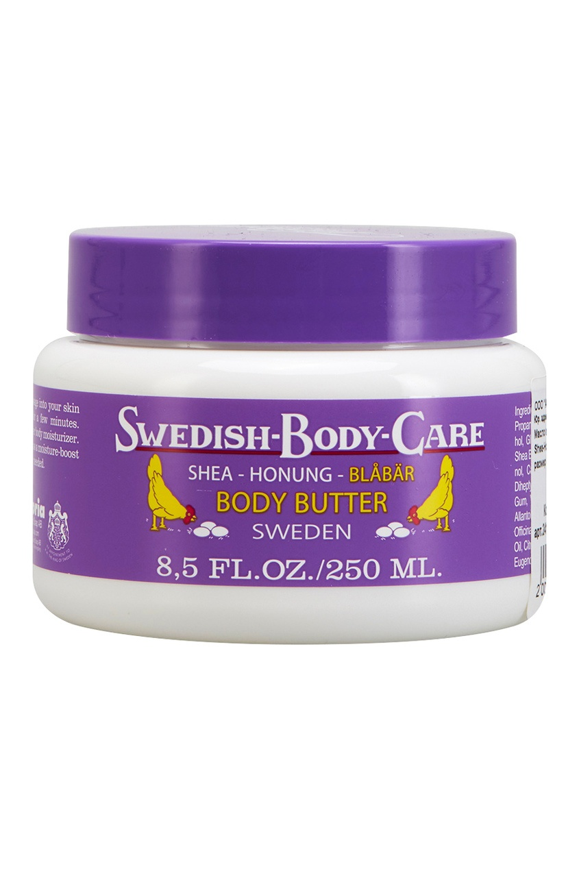 Victoria Soap Масло для тела Shea-Honung-Blabar «Черника» 250ml victoria soap лосьон для тела tallba pine шведская сосна 250ml