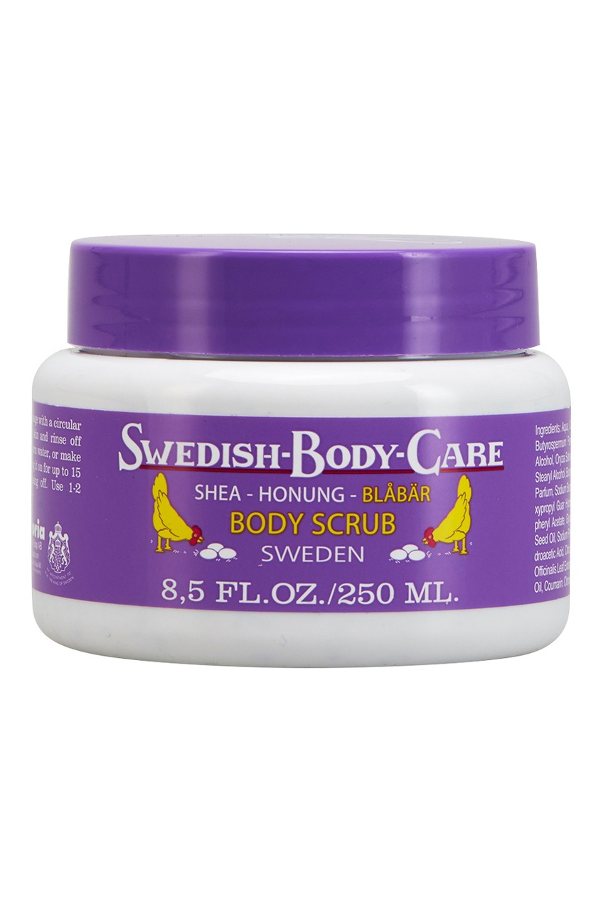 Victoria Soap Скраб для тела Shea-Honung-Blabar «Черника» 250ml victoria soap подарочный набор черника