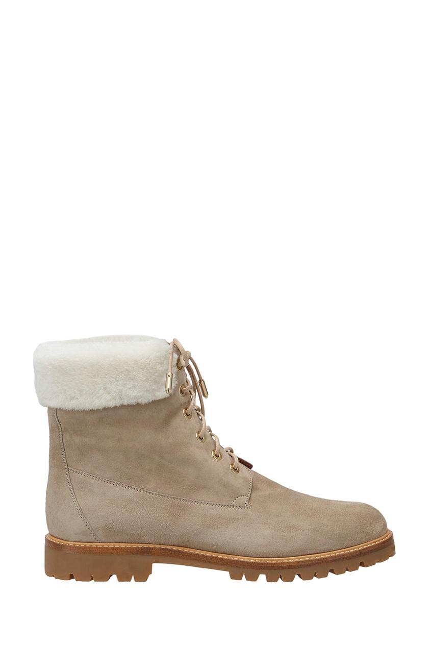 Замшевые ботинки The Heilbrunner Flat