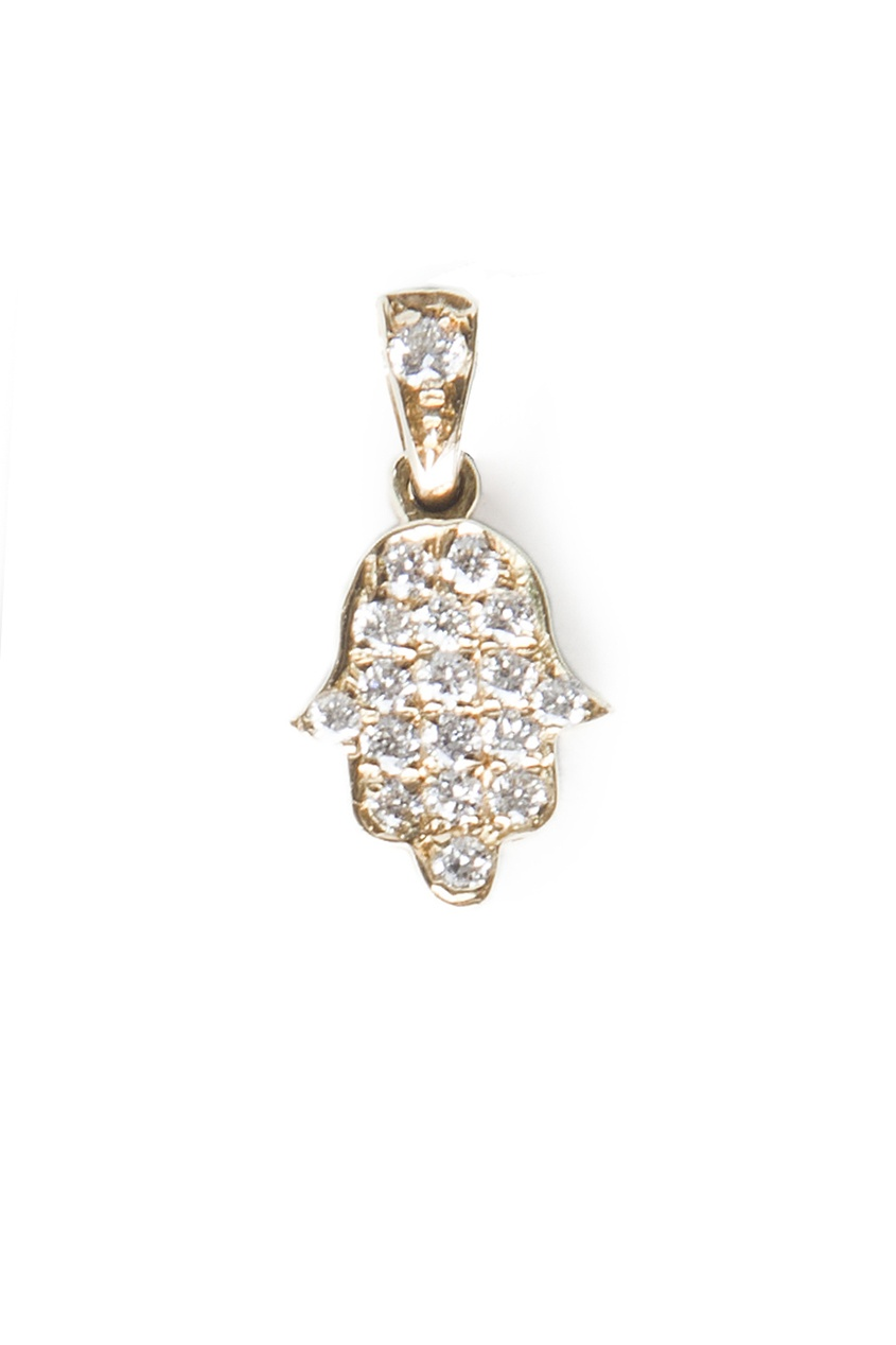 Кулон из желтого золота и бриллиантов