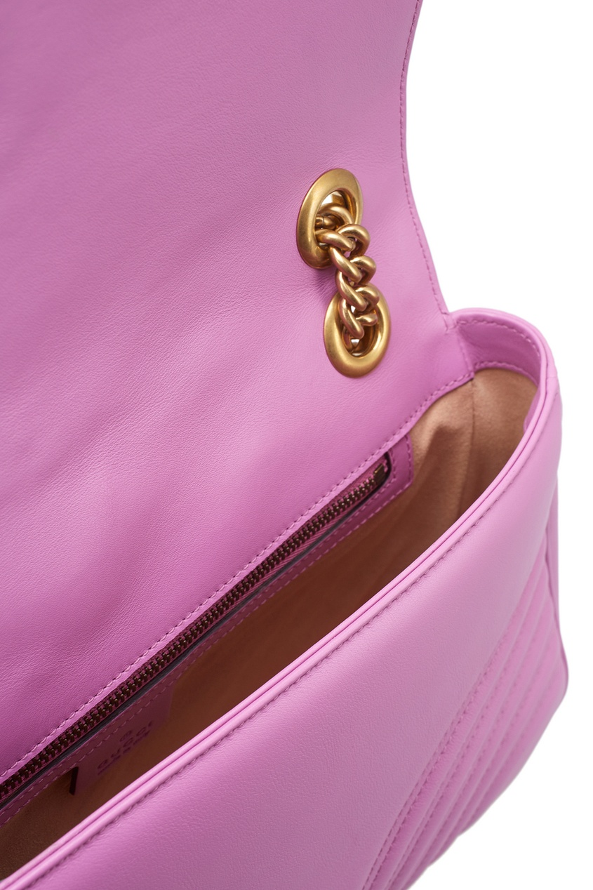 Gucci Кожаная сумка GG Marmont gucci сумка