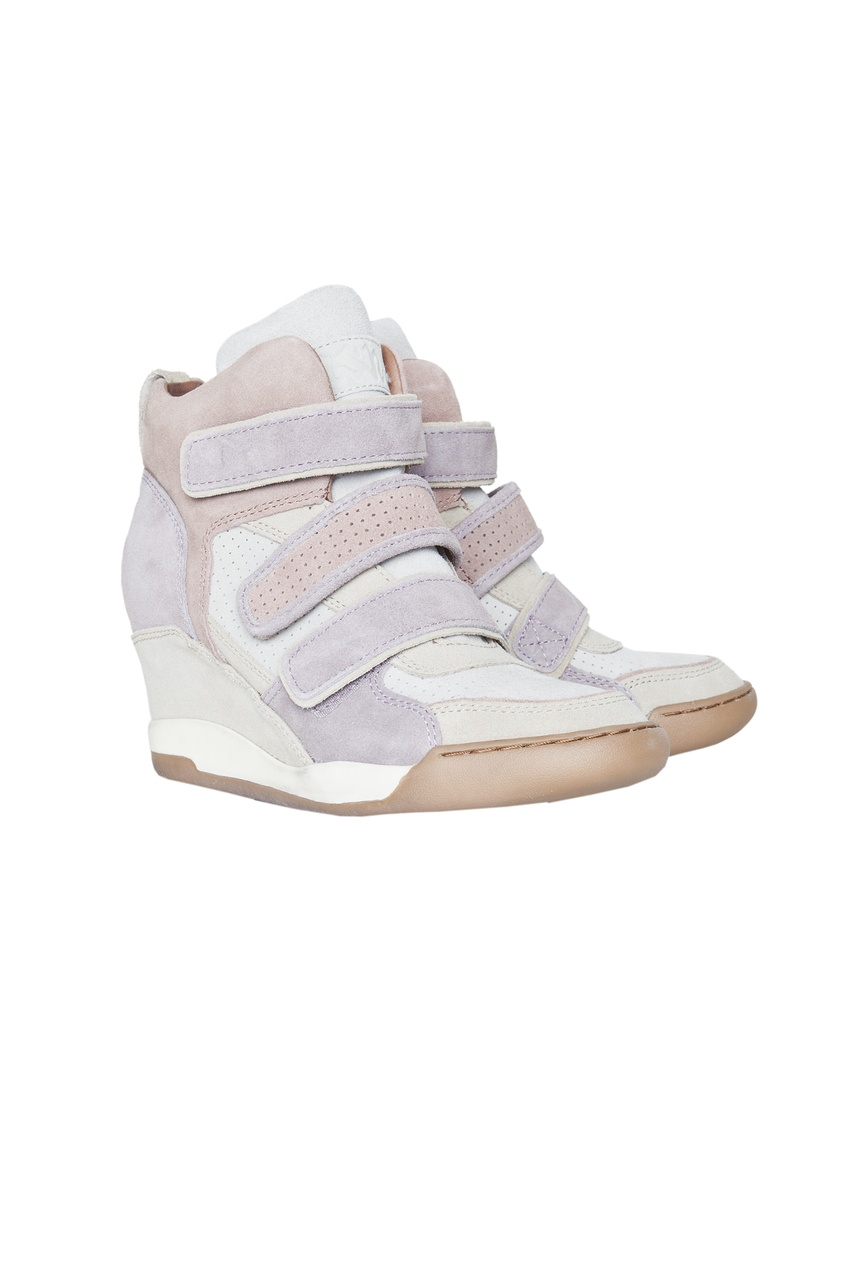 Кроссовки пастельных оттенков со скрытым каблуком Alex