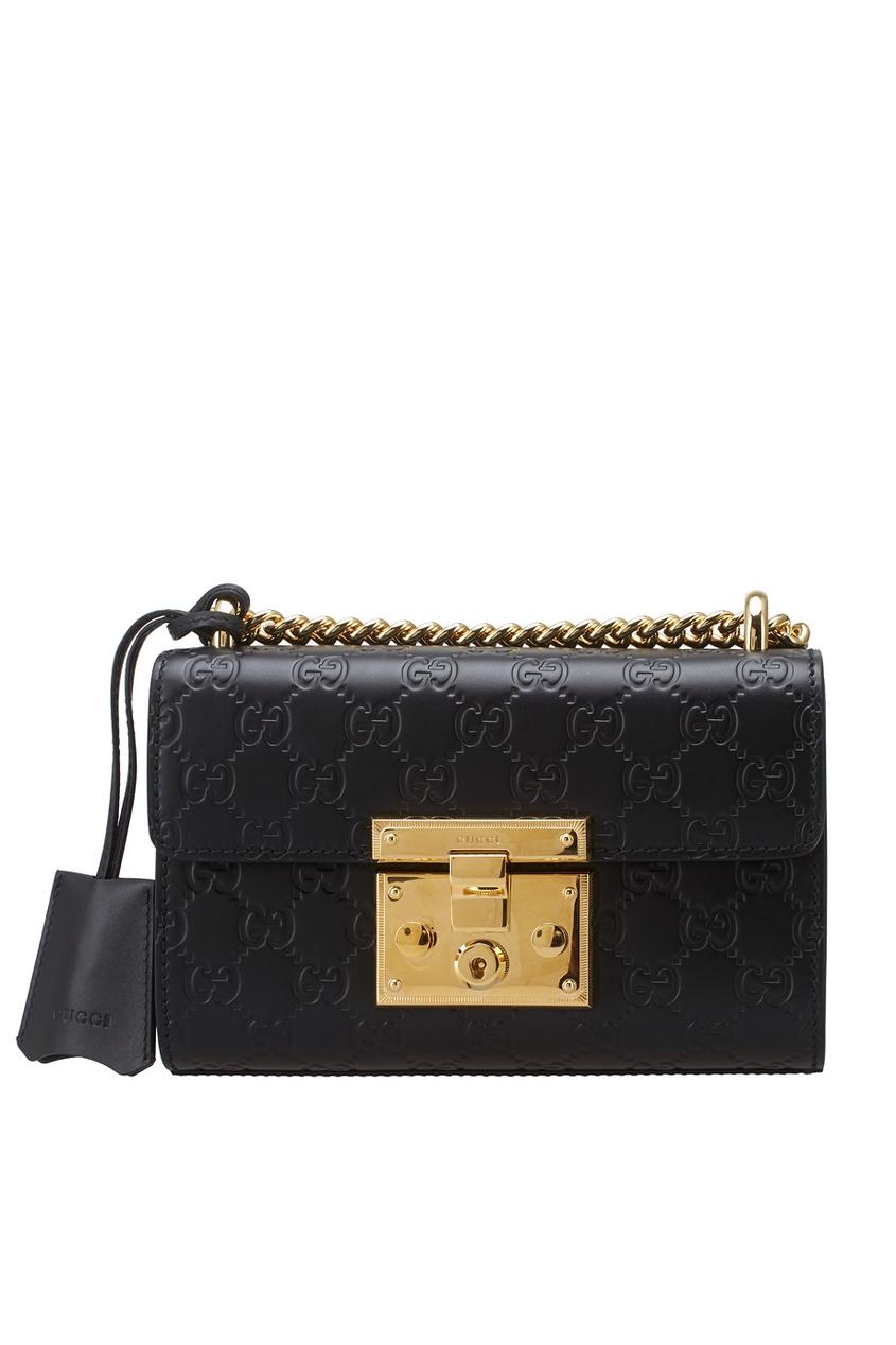 Кожаная сумка Gucci