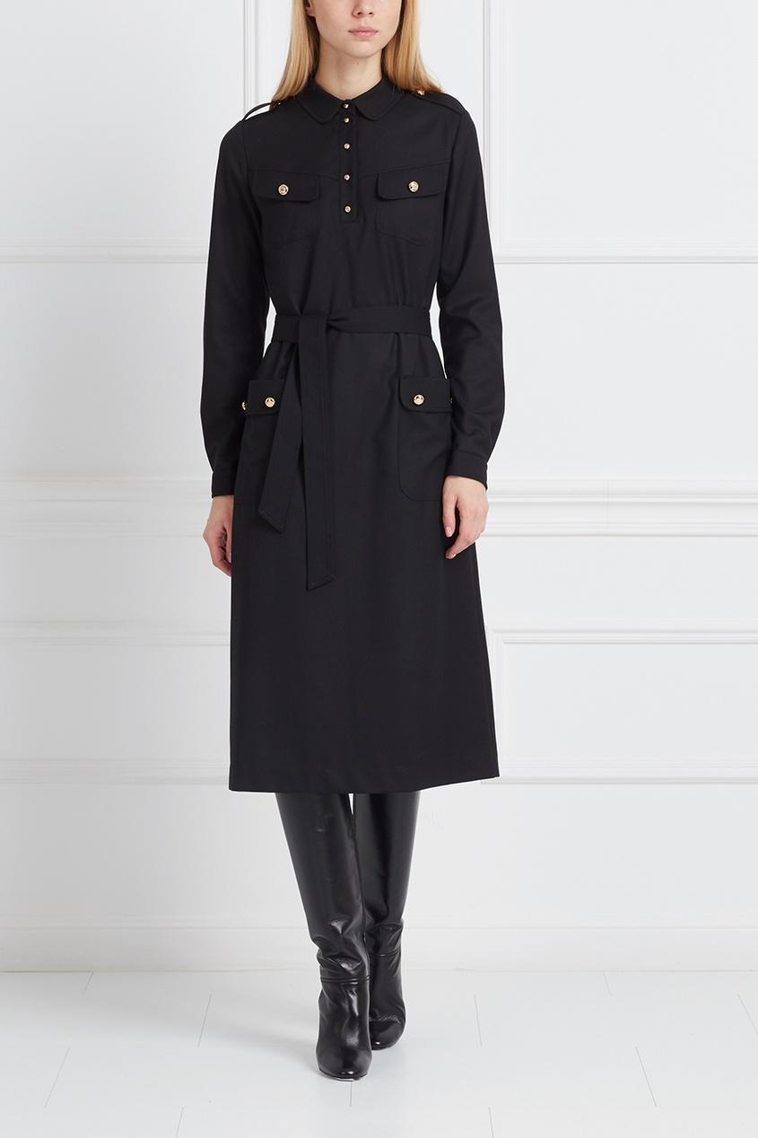 LAROOM Однотонное платье laroom черное платье макси