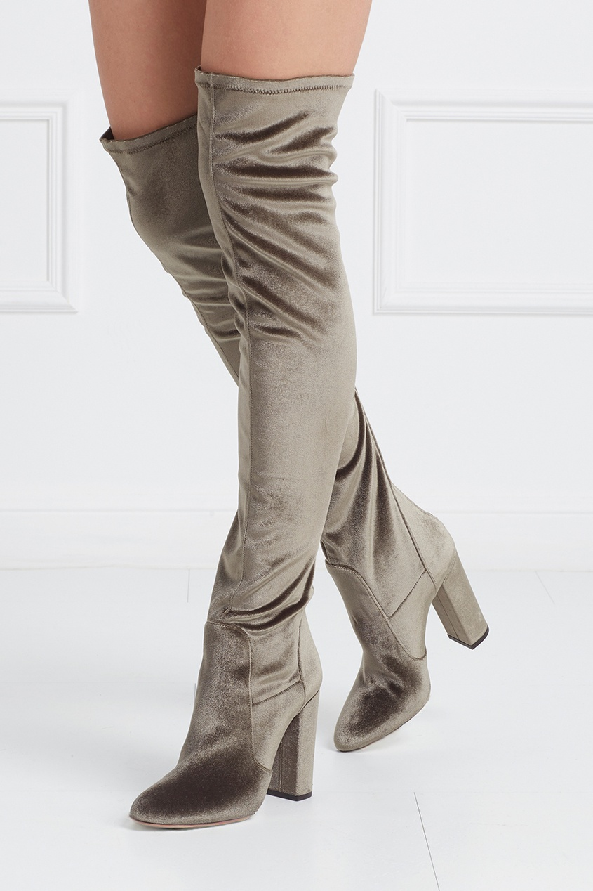 Ботфорты Velvet Thigh High
