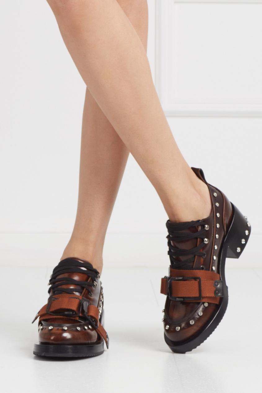 Кожаные ботинки Army