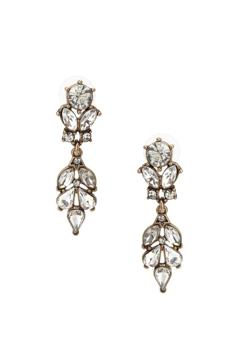 RubyNovich Серьги с кристаллами