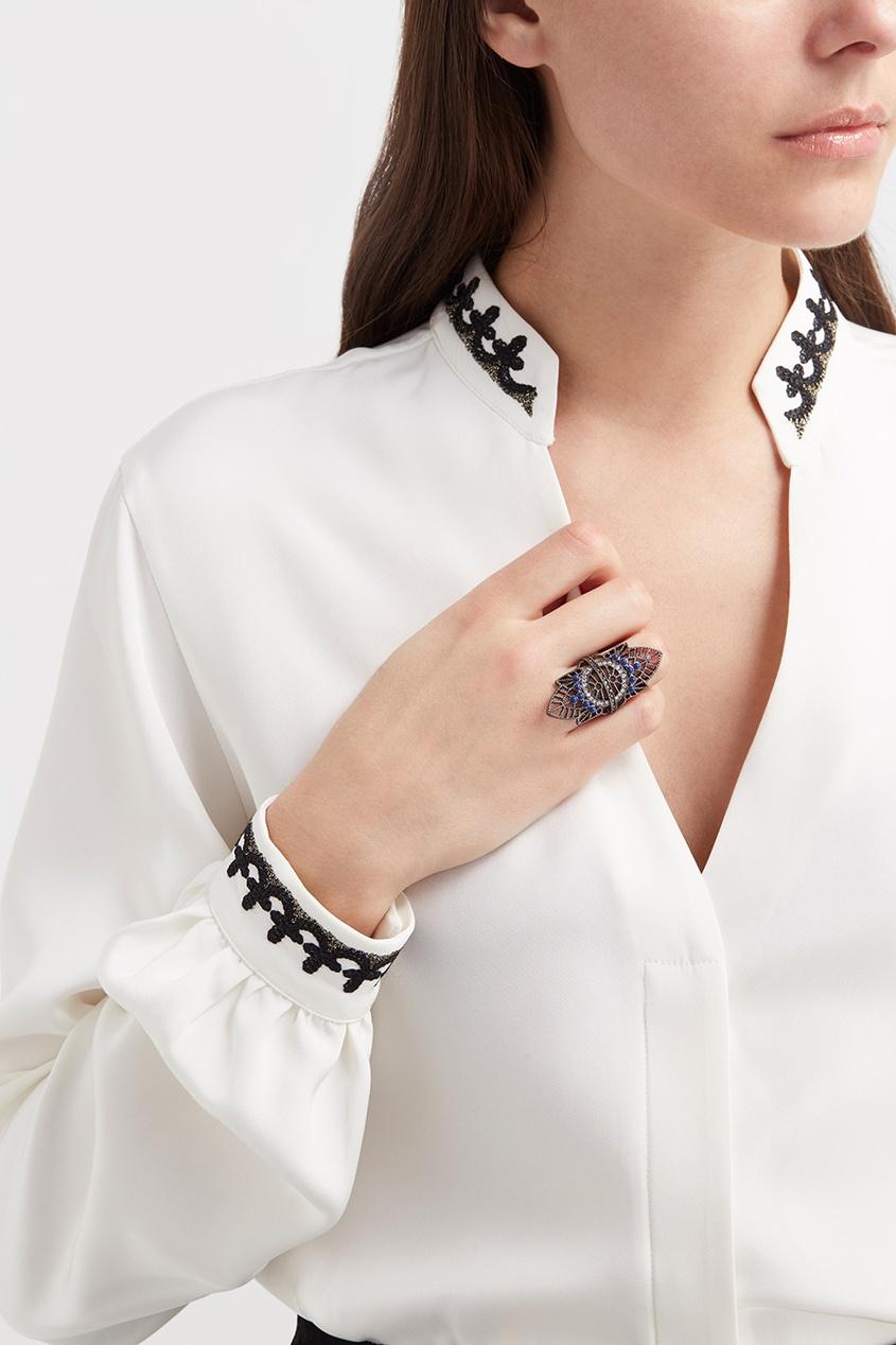 RubyNovich Кольцо с кристаллами
