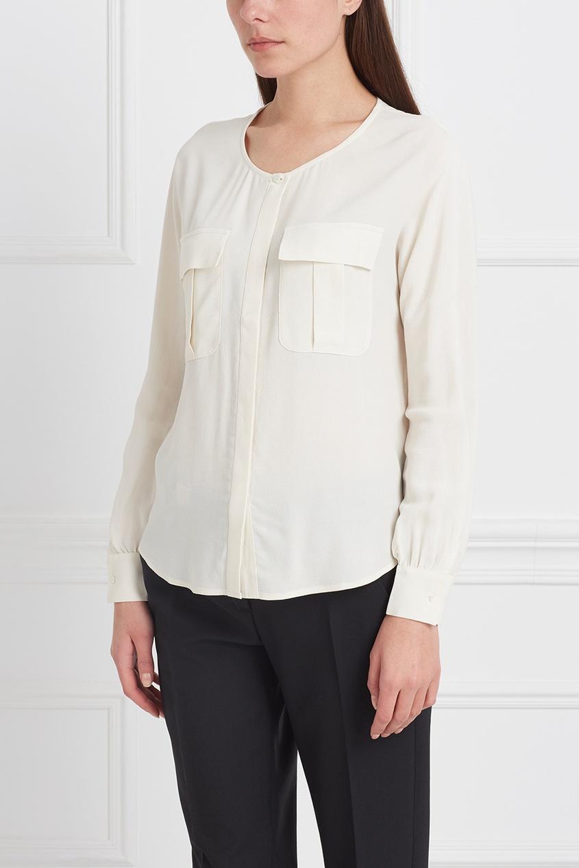 Stefanel Однотонная блузка