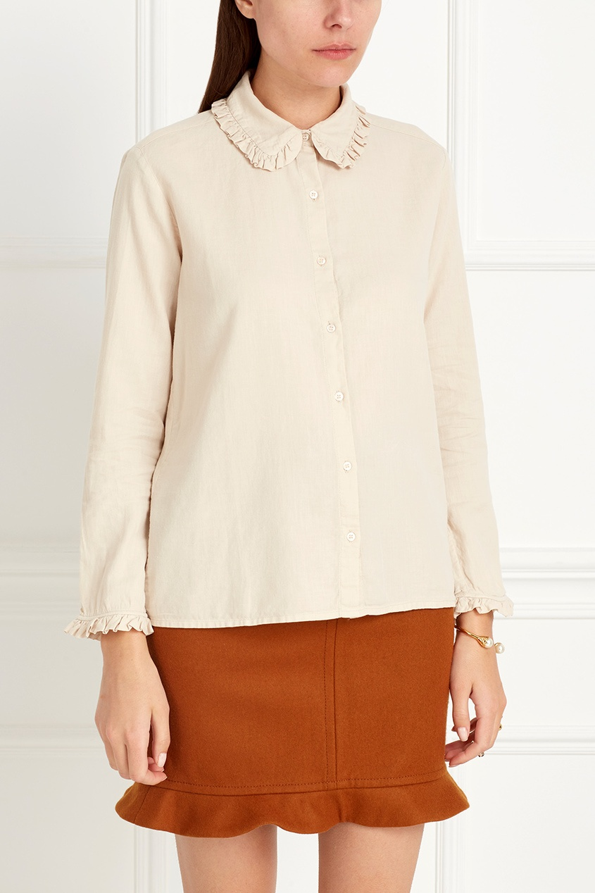 Хлопковая блузка Feldspar