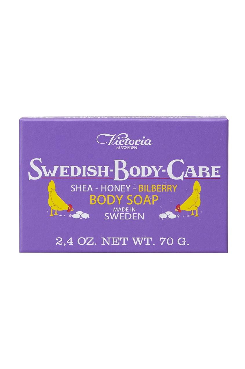 цена на Victoria Soap Мыло для тела Shea-Honung-Blabar «Черника» 70gr