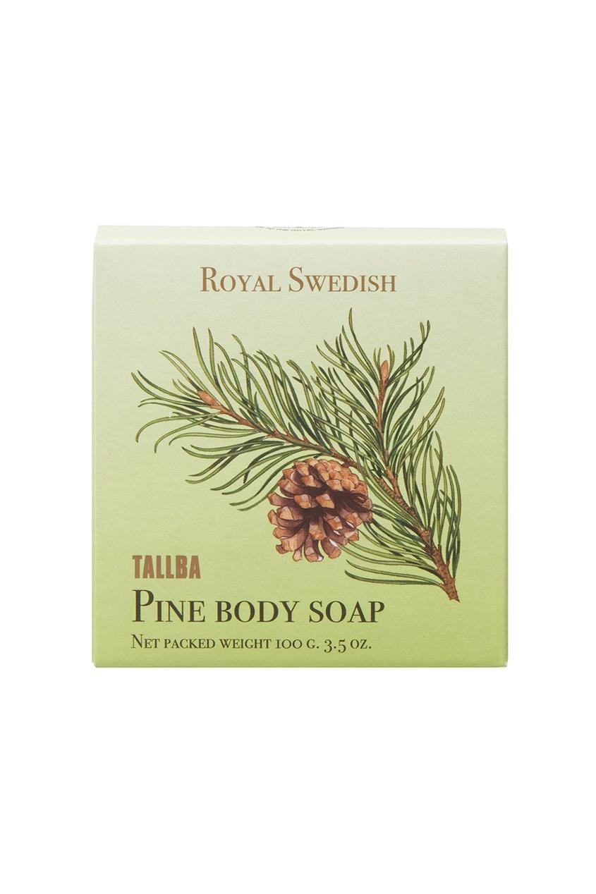 Victoria Soap Мыло для тела Tallba Pine «Шведская сосна» 100gr victoria soap лосьон для тела tallba pine шведская сосна 250ml