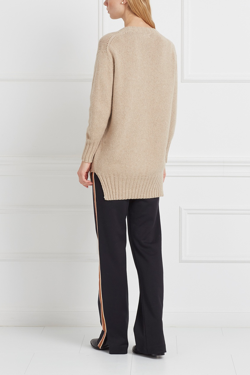 Пуловер из альпаки