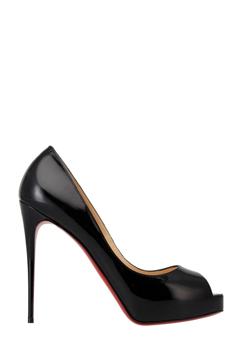 Черные лакированные туфли New Very Prive 120