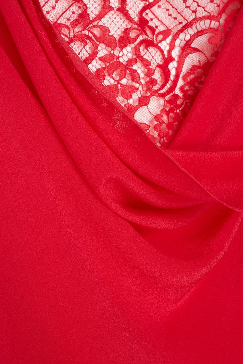 Фото 2 - Платье Vallerie красного цвета