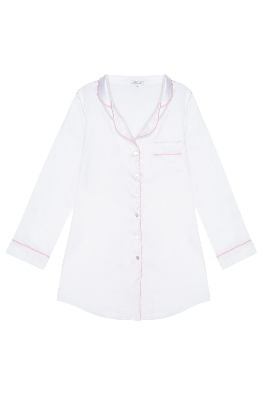 Шелковая ночная рубашка