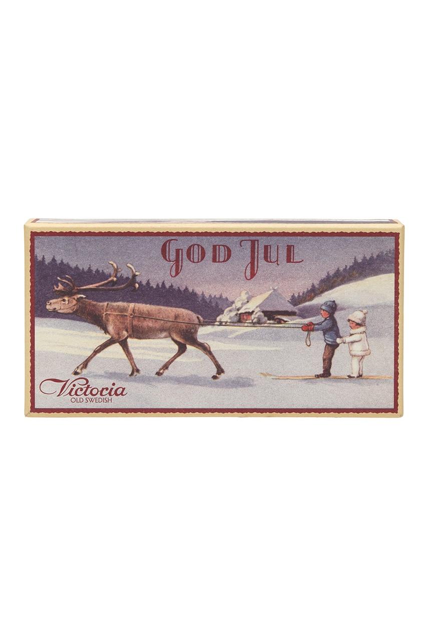 Подарочный набор мыла «Рождественский олень», 2х140gr