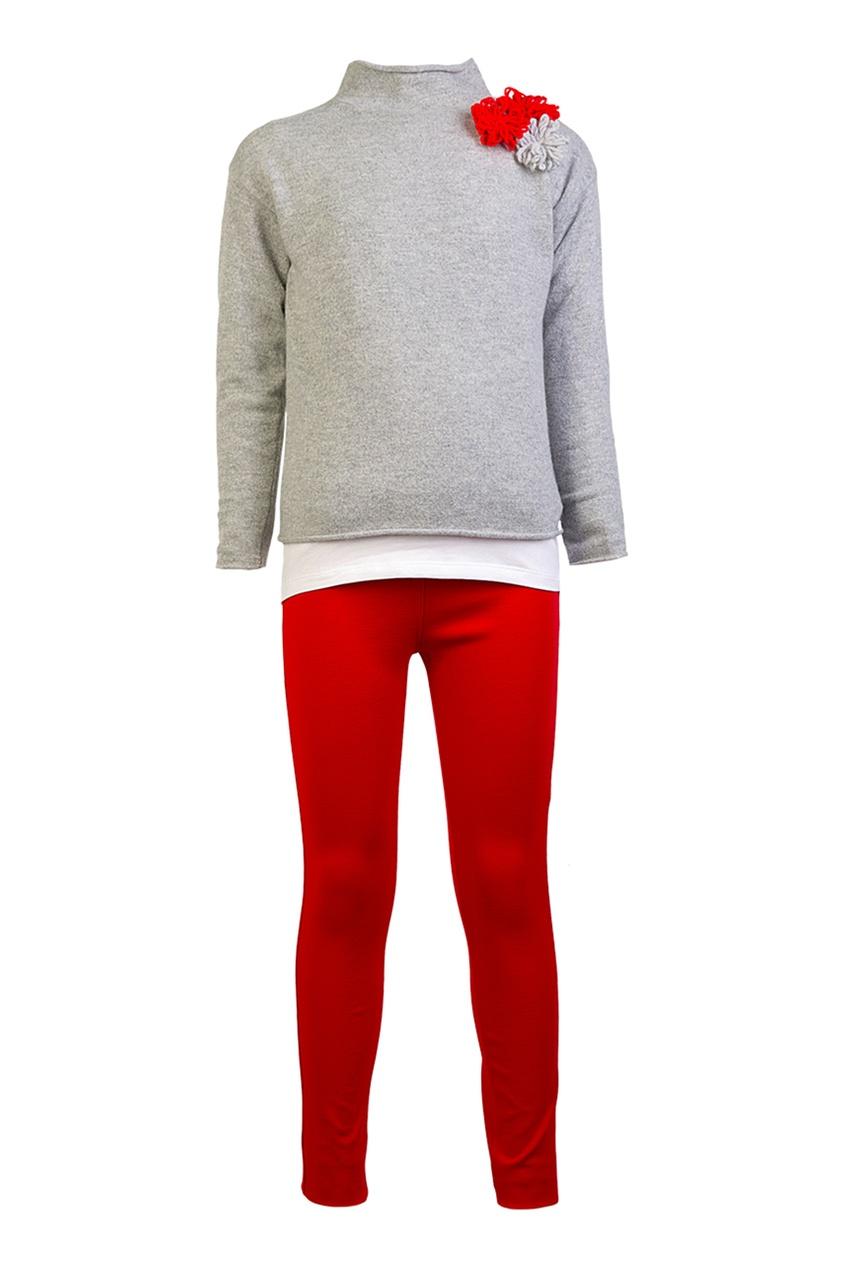 Комплект из джемпера, футболки и брюк