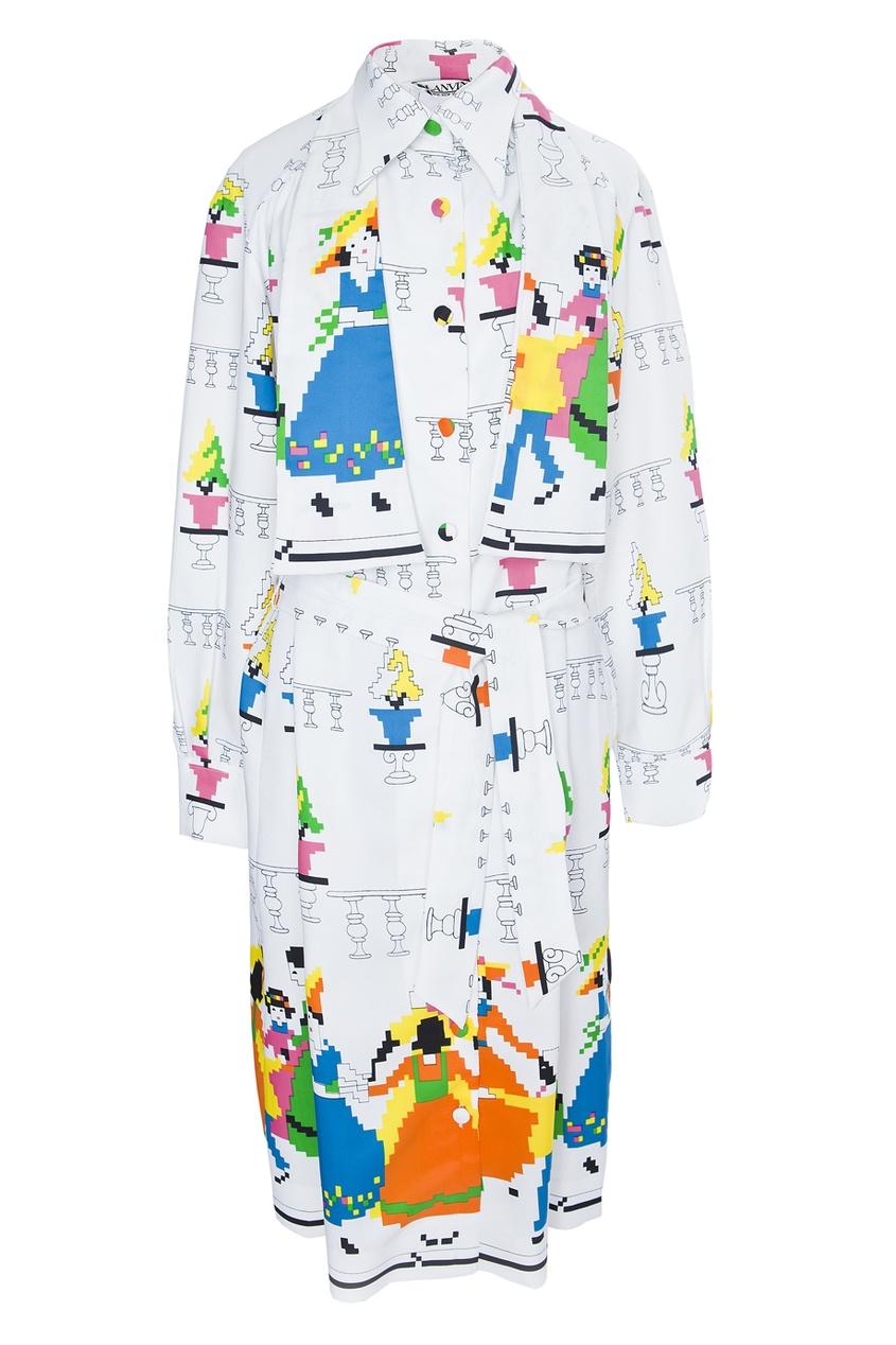 Шелковое платье (80-е гг.) - нет в наличии