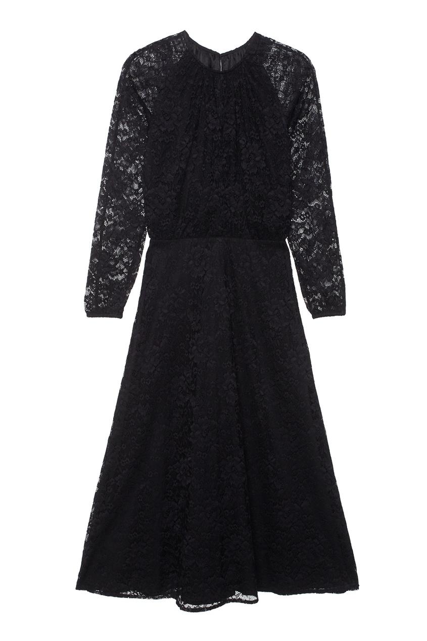 LAROOM Кружевное платье кружевное платье миди 40 44