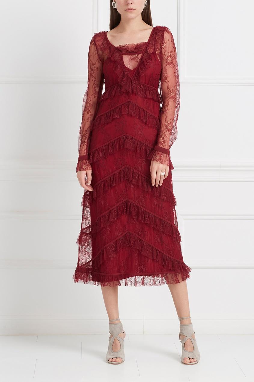LAROOM Кружевное платье платье черное кружевное из бонприкс до 200 грн