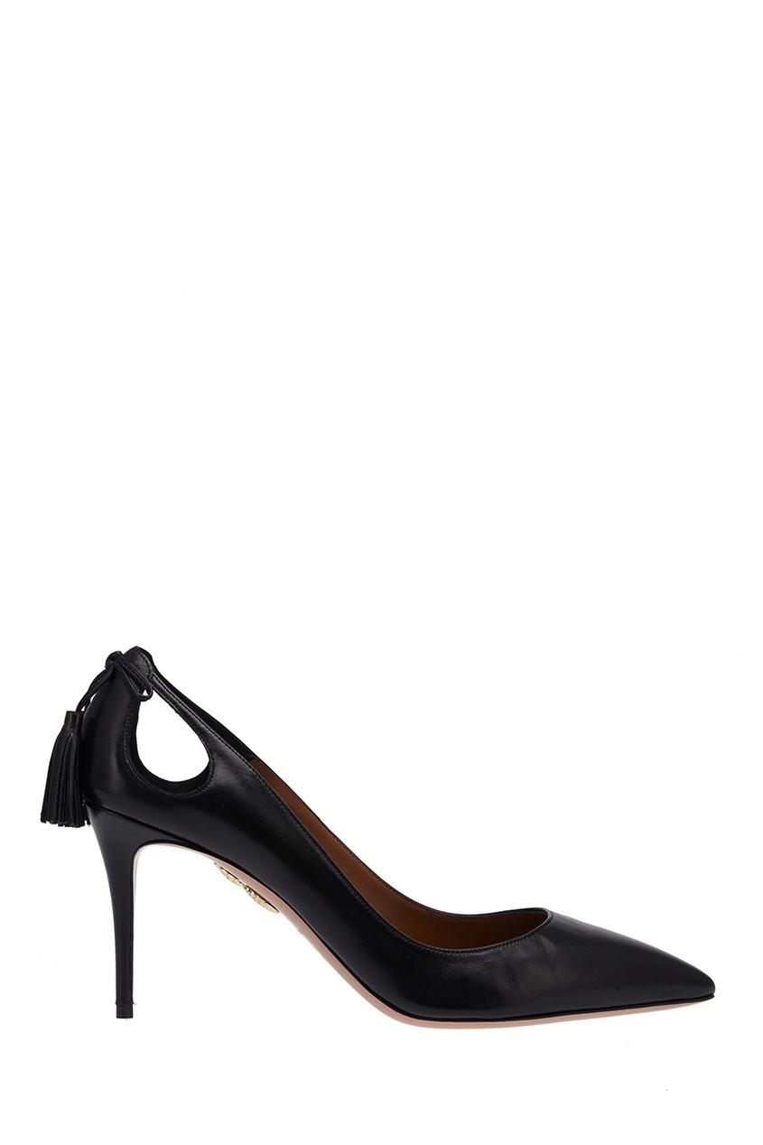 Кожаные туфли Forever Marilyn Aquazzura