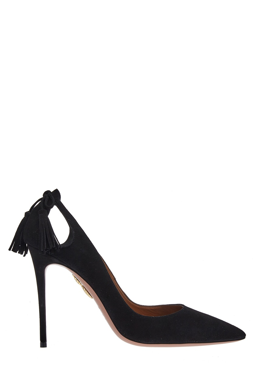 Замшевые туфли Forever Marilyn 105 Aquazzura