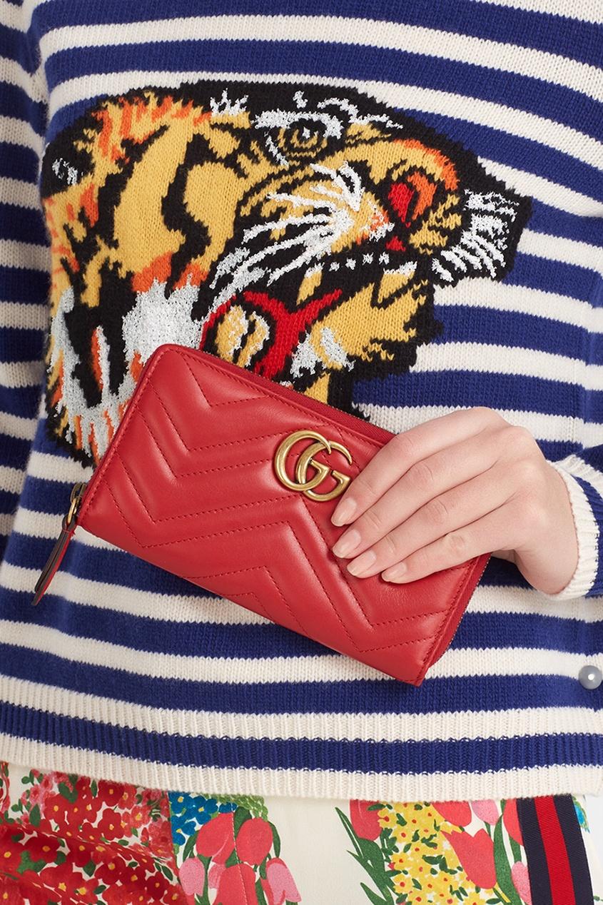 Gucci Кожаный кошелек кожаный кошелек