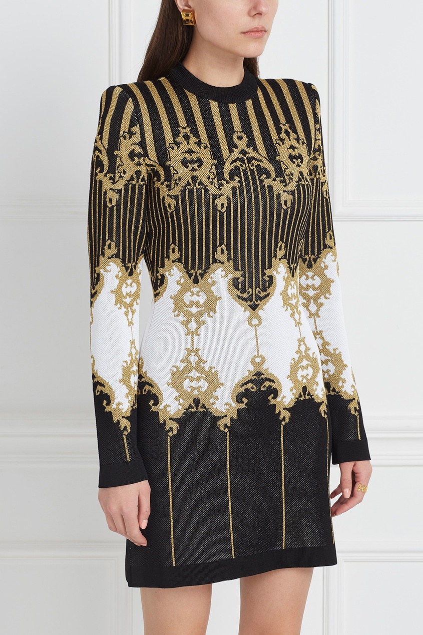 Balmain Платье с люрексом