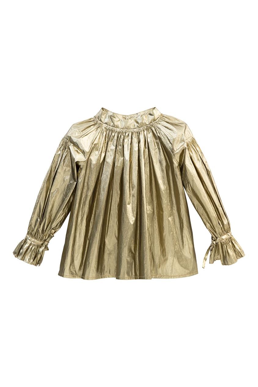 Золотая блузка Bohemia