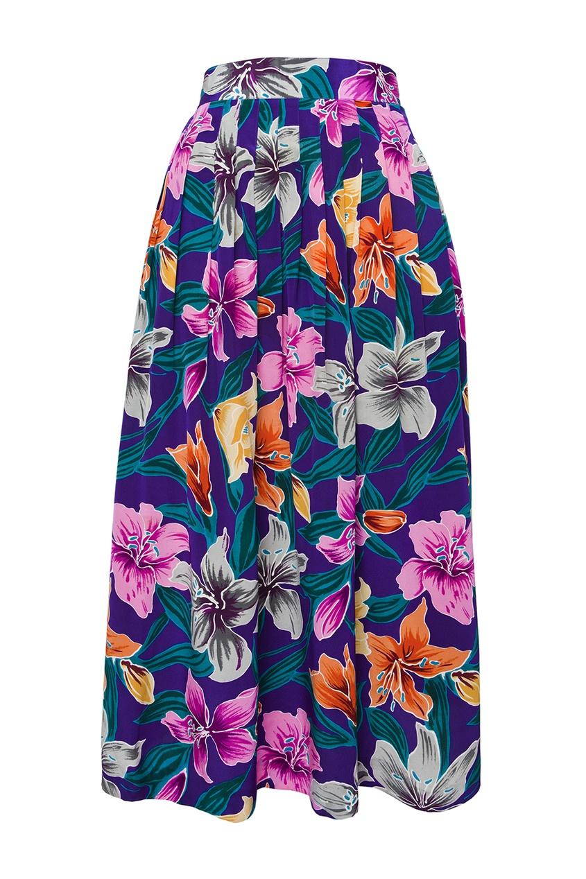 Шелковая юбка (80-е гг.)