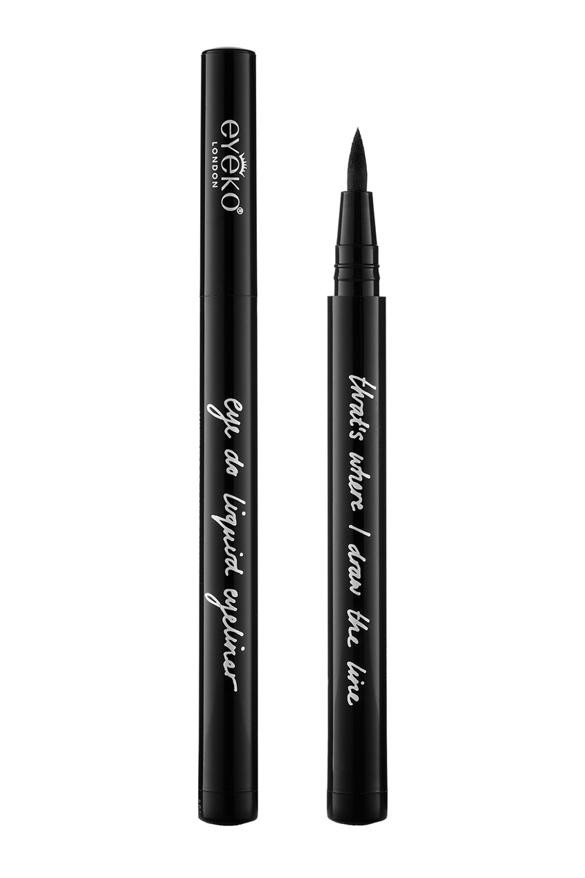 Eyeko Подводка для глаз Eye Do Liquid Eyeliner By Alexa Chung, Black free shipping 3 pp eyeliner liquid empty pipe pointed thin liquid eyeliner colour makeup tools lfrosted purple