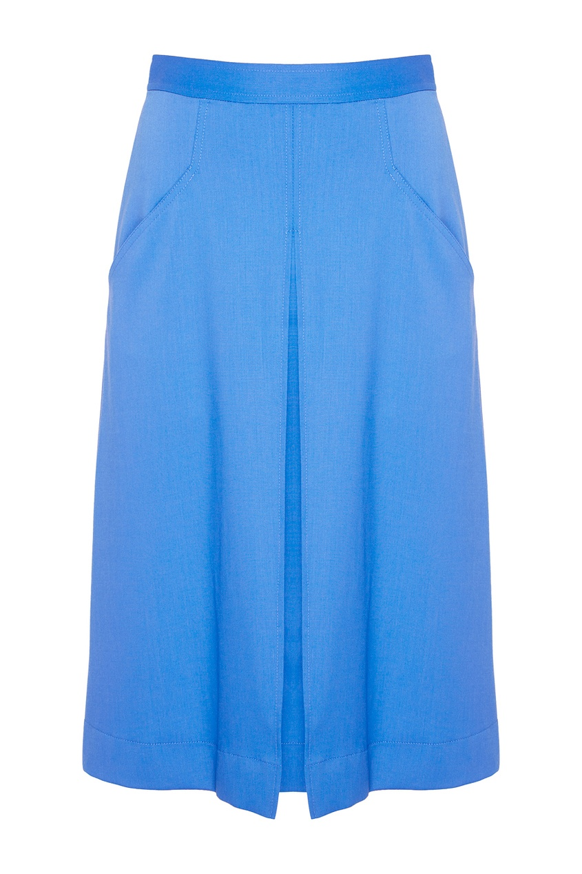 Шерстяная юбка.