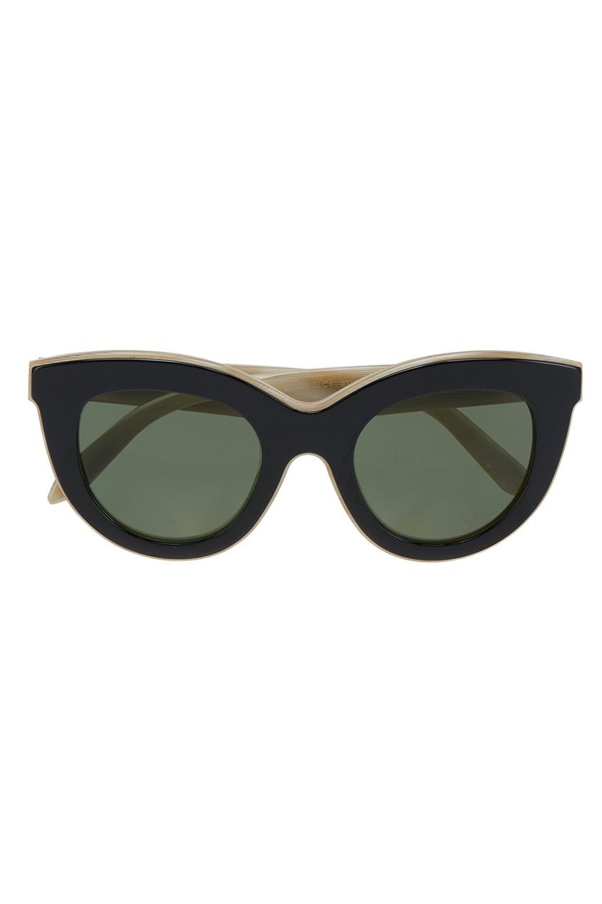 Victoria Beckham Солнцезащитные очки Layеred Cat капри victoria beckham капри