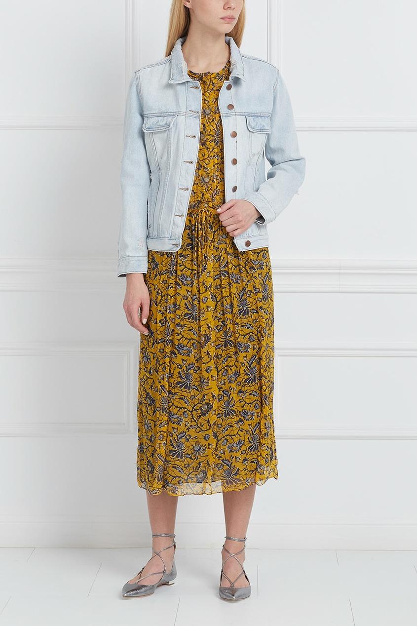 Куртка из денима