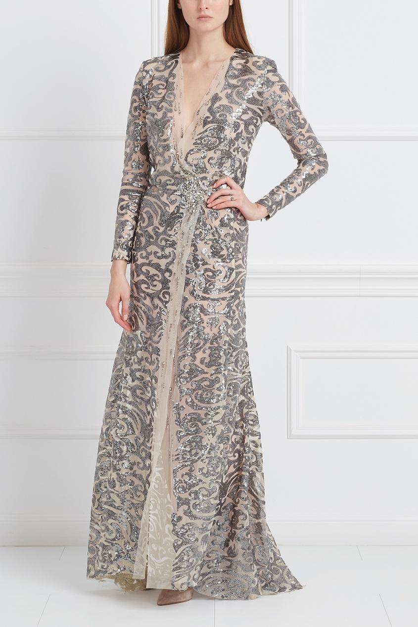цена на Marusya Платье с пайетками
