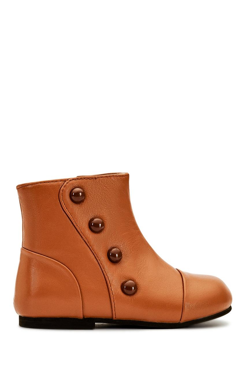 Age of Innocence Кожаные ботинки Becky цена