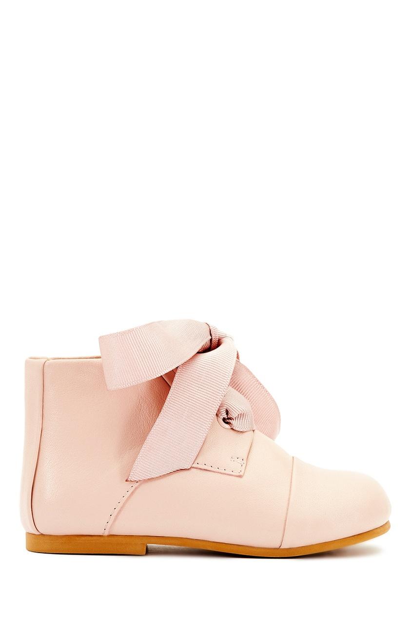 Кожаные ботинки на шнуровке Jane