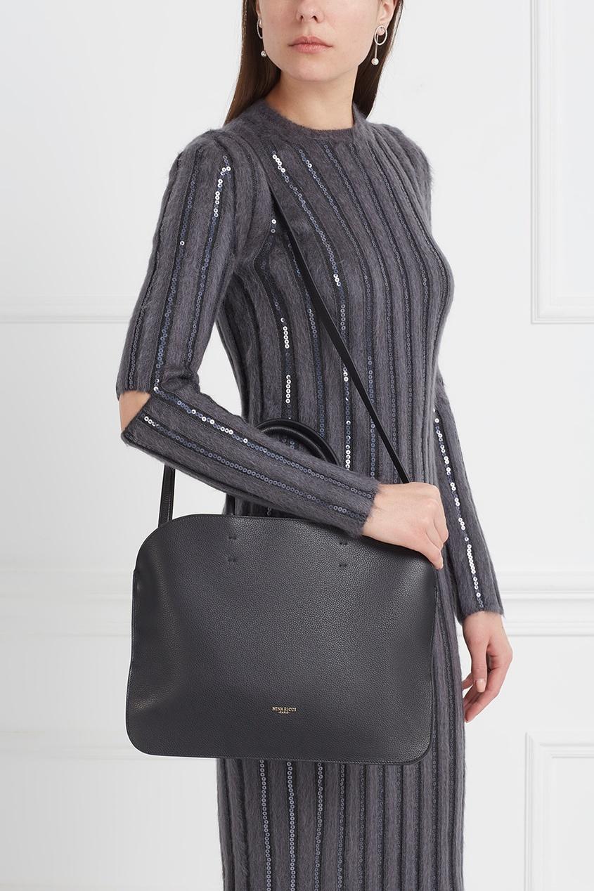 Nina Ricci Кожаная сумка