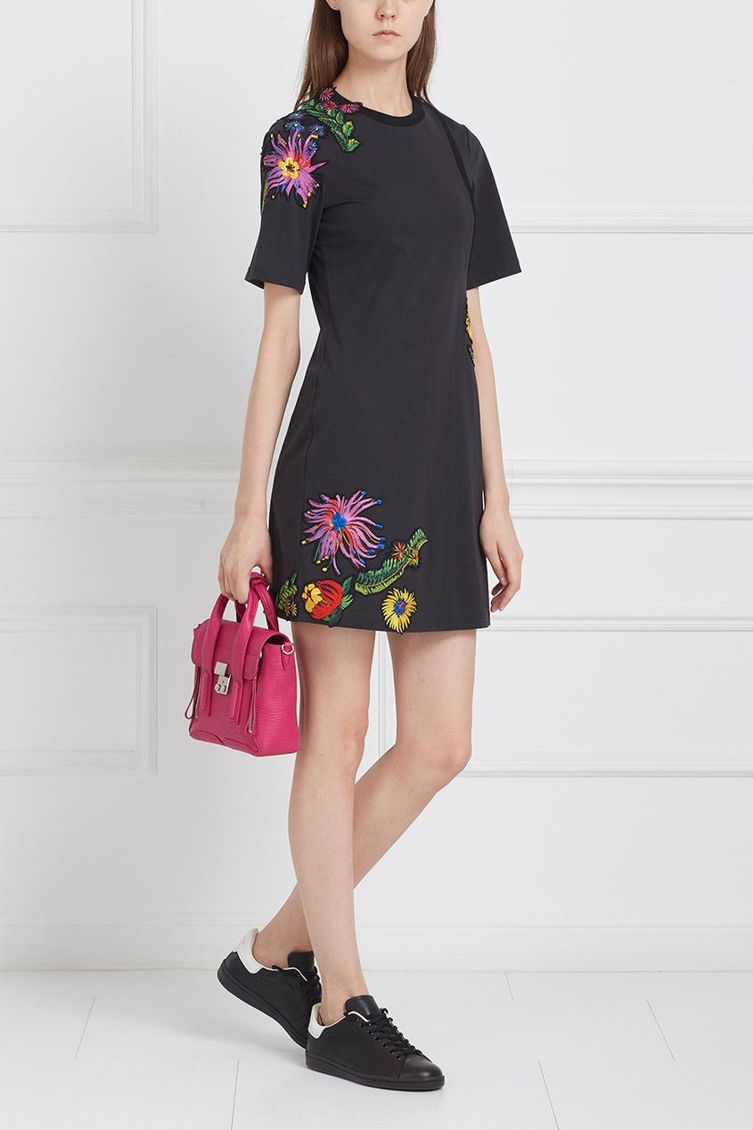 3.1 Phillip Lim Хлопковое платье
