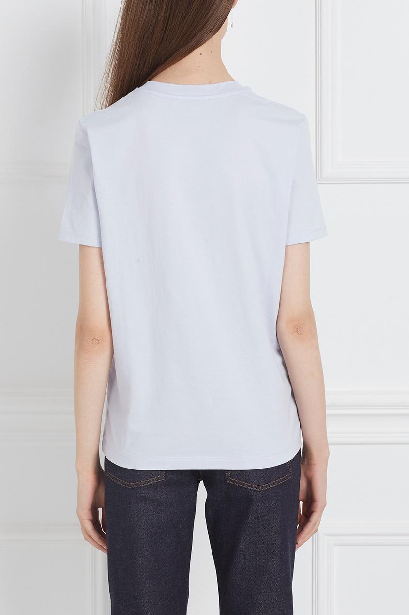 Acne Studios Хлопковая футболка