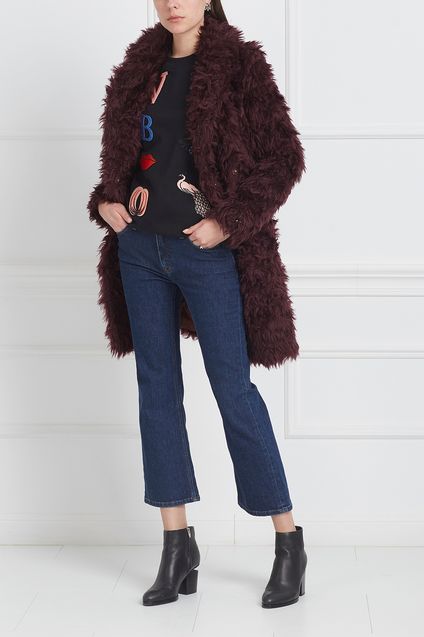 Victoria Victoria Beckham Джинсы где можно джинсы с принтом флага сша