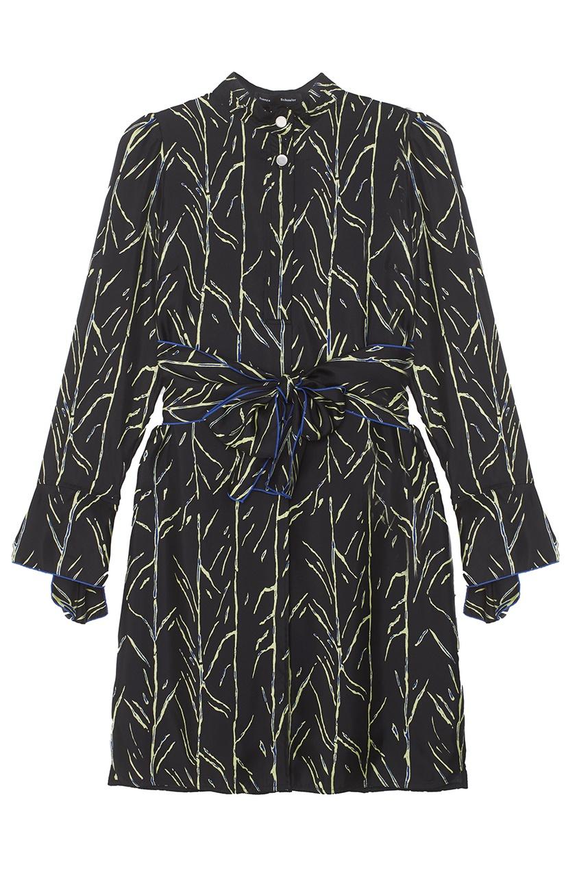 Proenza Schouler Шелковое платье