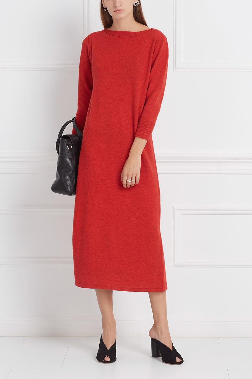 Isabel Marant Платье из хлопка и шерсти Cara