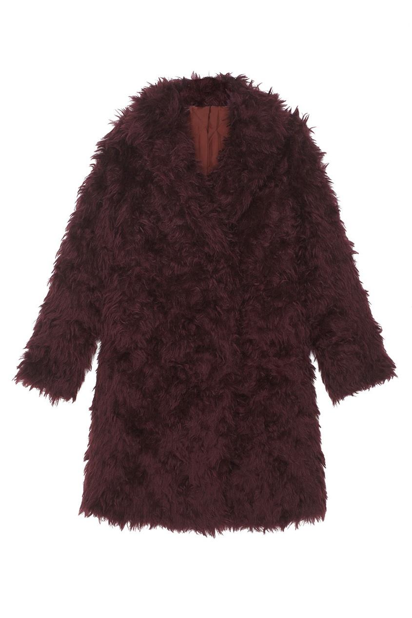 Luda Nikishina Пальто из мохера luda nikishina шерстяное пальто