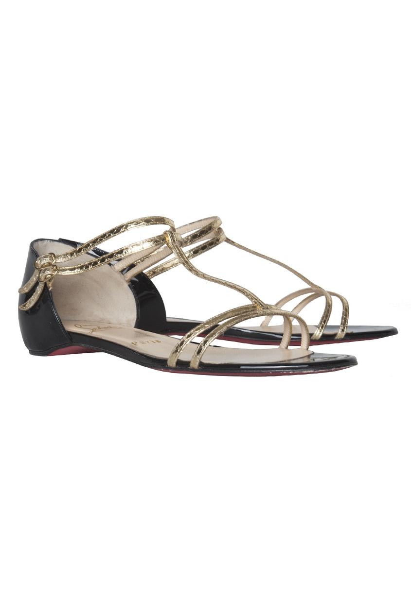 Christian Louboutin ������� �������� Arnold Flat Patent/Ayers Specchio
