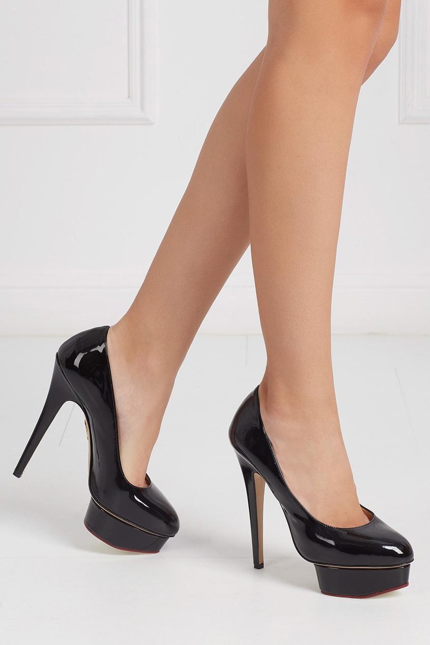 Туфли из лакированной кожи Dolly