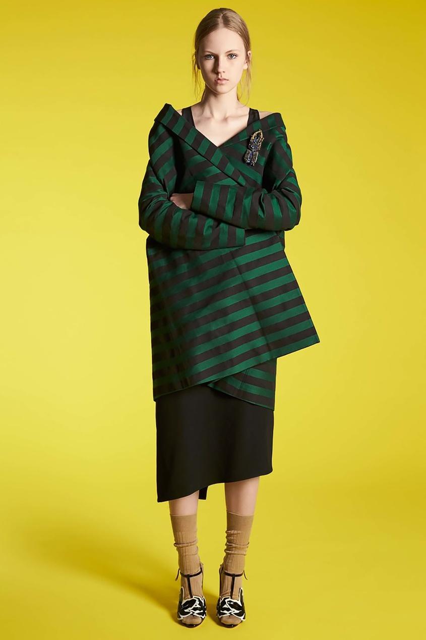 Rochas Хлопковое пальто rochas пальто из шерсти и шелка