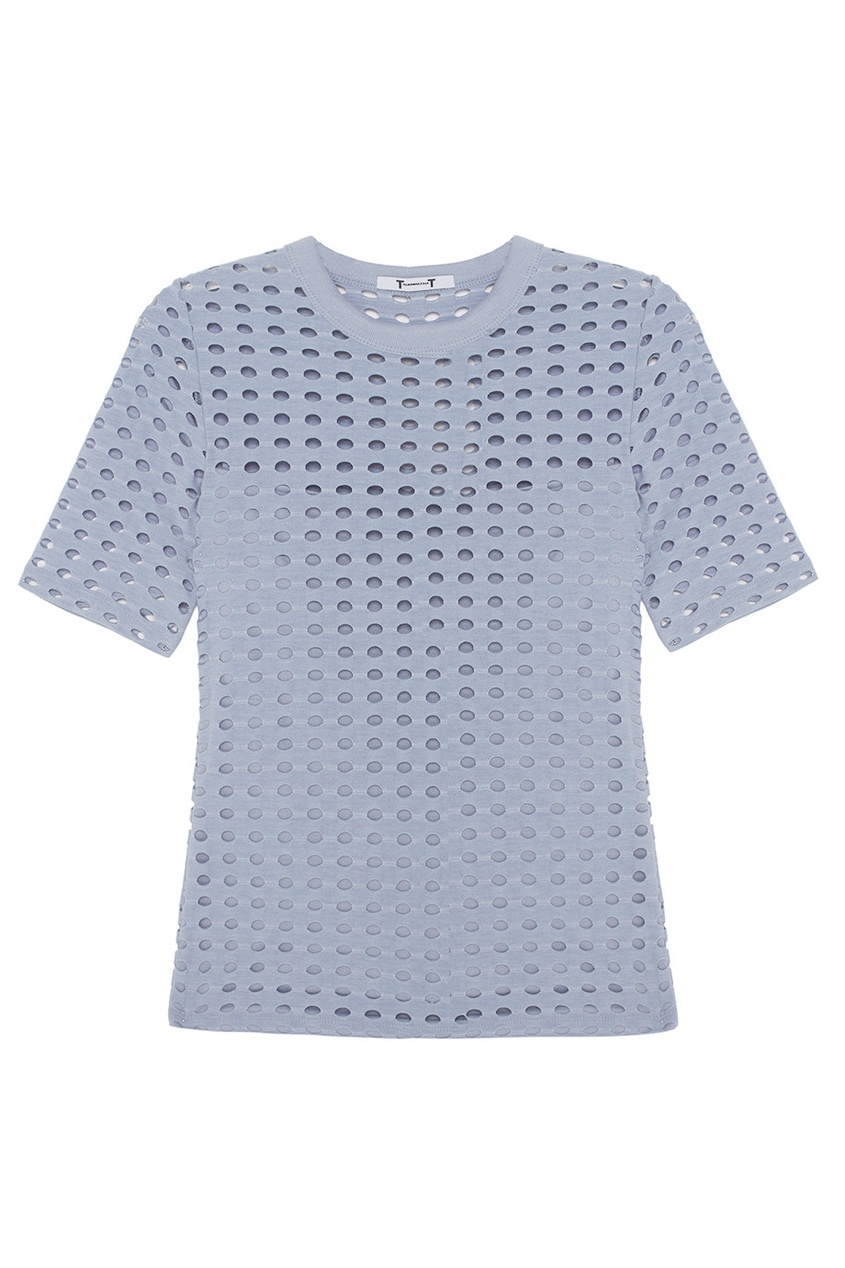 T by Alexander Wang Однотонная блузка
